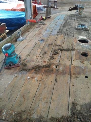 Cingalee Foredeck Deck